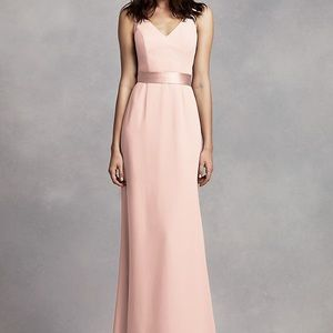 Vera Wang Size 6 bridesmaid dress. Blush color